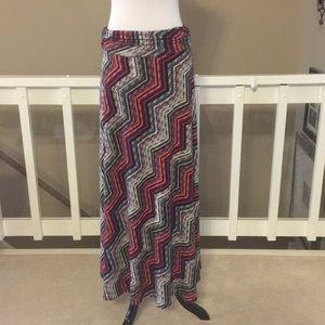 NWOT Renee C. Maxi Skirt Size Large